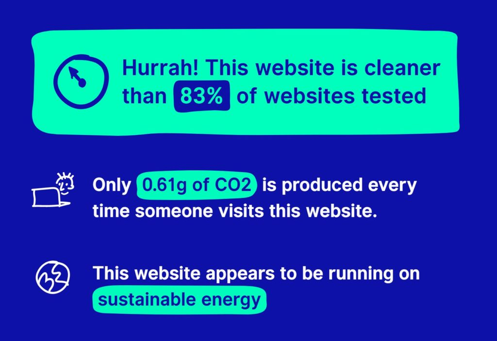 The website carbon calculator has a new look, and new data!