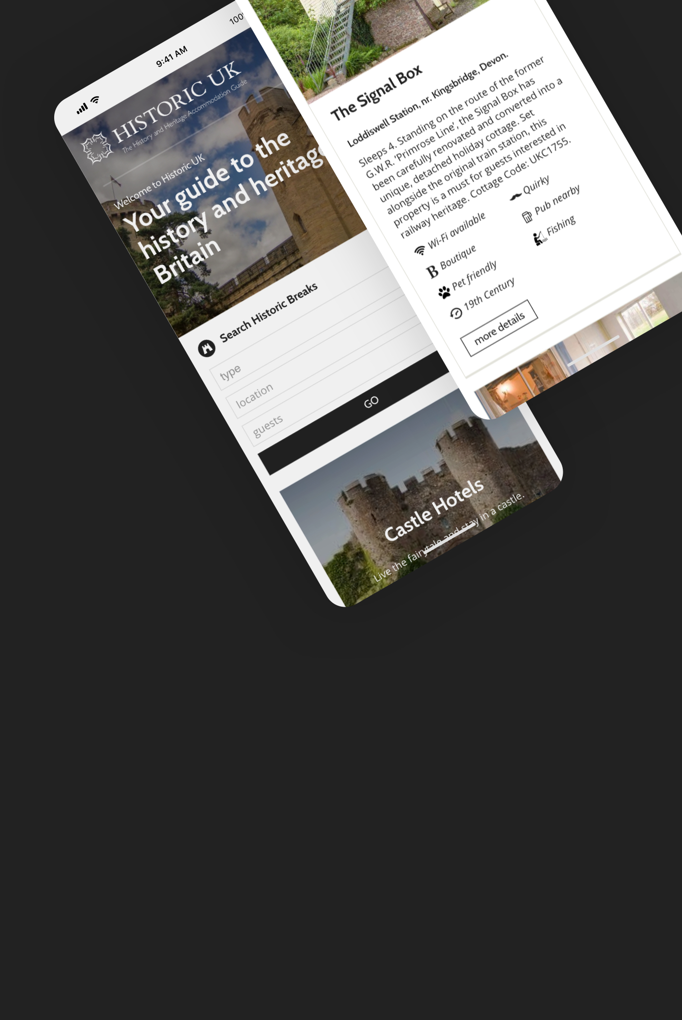 Using great design and WordPress to bring the UK's history to life