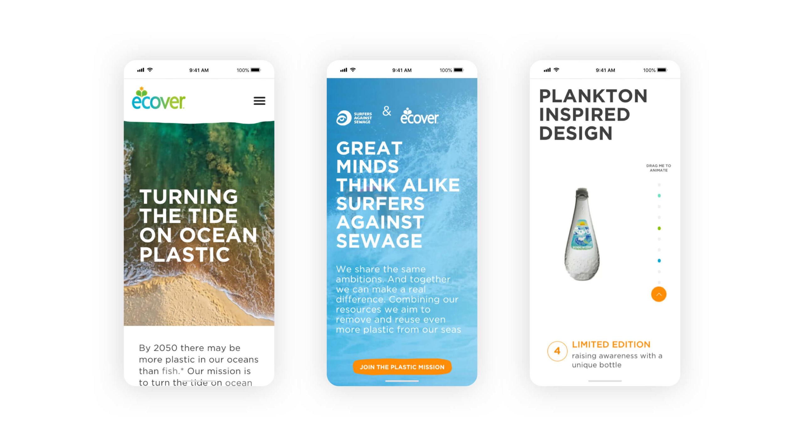 Ecover Plastic Ocean Screenshot