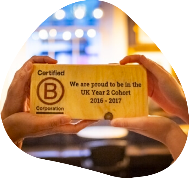 Brave BCorp Trophy