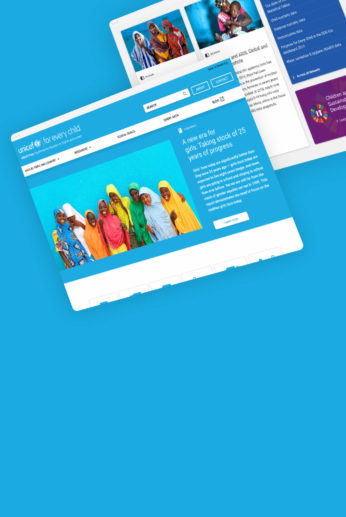 Making Unicef's data far more appealing