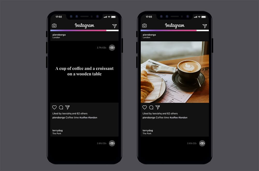 Instagram gets an eco-friendly makeover