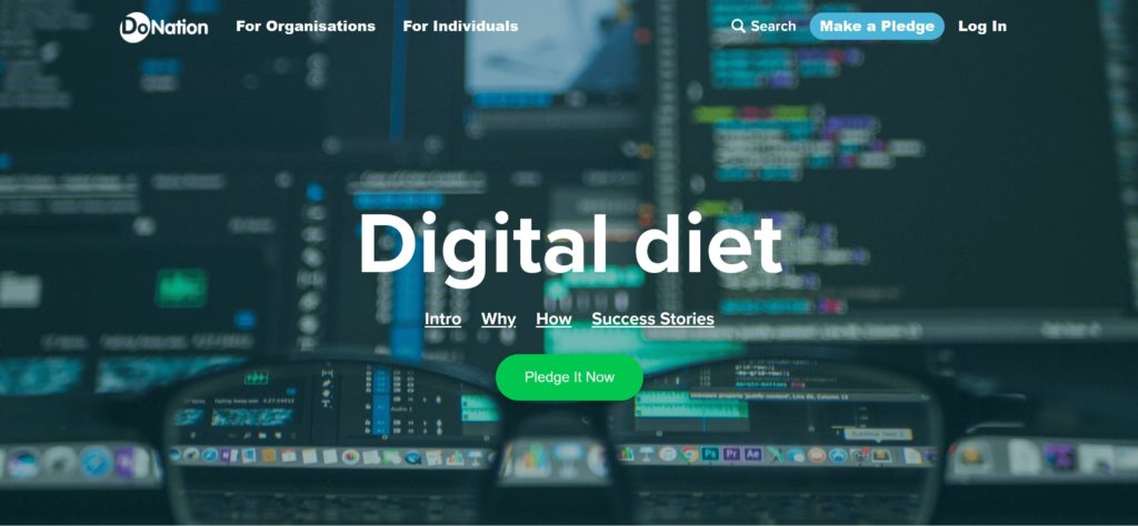 Do Nation asks us to go on a Digital Diet