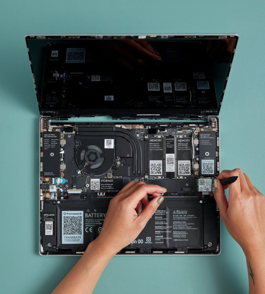 A framework for the future - repairable laptops now available!
